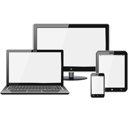 Your website will be supported on all major devices, including tablets and mobile phone handesets